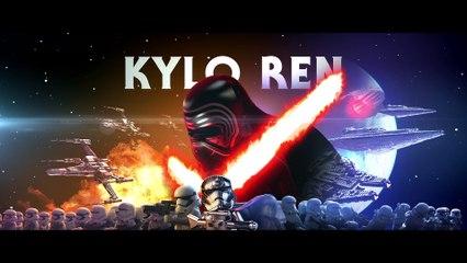 Trailer Kylo ren (Adam Driver) de LEGO Star Wars : Le Réveil de la Force