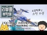 [리뷰를 부탁해 14탄] 1/100 YF-29 듀랜달 발키리 셰릴 마킹 Ver. - YF-29 Durandal Valkyrie Sheryl Marking Version
