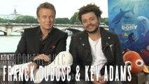 Kev Adams et Franck Dubosc : interview pour Le Monde de Dory