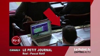 Conseil de Paris : un élu pris en flagrant délit devant un match de l'Euro - Zapping du 21 juin