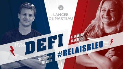 Défi #Relaisbleu n°6 | Alexandra Tavernier & Christophe Lemaitre
