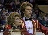 Bestemianova & Bukin (URS) - 1988 Calgary, Ice Dancing, Compulsory Dance 1