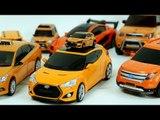 Orange Color Carbot Tobot Robot Transformation Car Toys 오렌지색 주황색 헬로카봇 또봇 엑스포머 자동차 장난감 변신 동영상