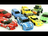 Transformers Carbot Tobot Red Blue Yellow Green Transfomation Robot Car Toys 헬로카봇 또봇 트랜스포머  변신 동영상