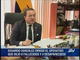 Hallazgo de desaparecido beneficia a Eduardo González, según abogado
