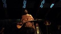 Maori singing at Tamaki Village Experience near Rotorua, New Zealand - 9/29/13