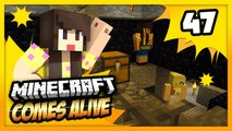 ESCAPING JAIL! - Minecraft Comes Alive 4 - EP 47 (Minecraft Roleplay)