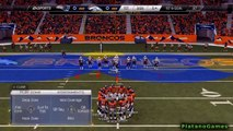 Madden 25 NFL Playoffs PS4 - New England Patriots vs Denver Broncos - 1st Qrt - HD