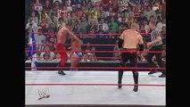 Chris Benoit & Edge vs. Kane & La Resistance: Raw, June 7, 2004
