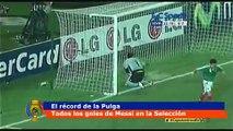 Lionel Messi y sus 55 goles con la Selección Argentina (22.06.2016)