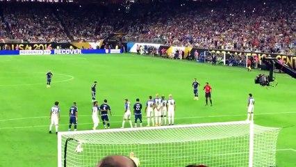Le but de Messi avec l'Argentine contre les USA !