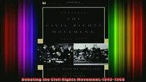 READ book  Debating the Civil Rights Movement 19451968 Full EBook