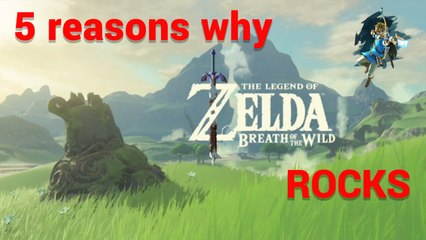 5 reasons why you have to play the new Zelda Breath of the Wild