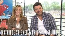 Le Monde De Dory : interview de Mathilde Seigner et Philippe Lellouche aka Destinée et Hank
