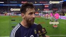 Entrevista a Lionel Messi - USA vs Argentina 0-4 Copa America 2016 Centenario HD