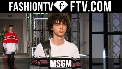 Milan Men Fashion Week Spring/Summer 2017 - MSGM   FTV.com