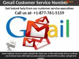 Need instant Gmail customer service? Dial 1-877-761-5159