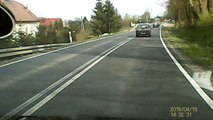 Kolizja drogowa na DK nr 44, 19 kwietnia 2015 r.