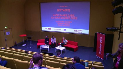 Hack.Share.Care: an open source cure - Keynote - Futur en Seine 2016