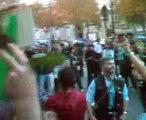 4-تظاهرات قدس در پاریس-27 شهریور1388 روبروی سفارت