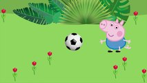 Peppa Pig Football #Gerge Toothache Crying# DINOSAURS AND SHIT # Nursery Rhymes Lyrics and more