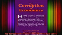 READ book  The Corruption of Economics Georgist Paradigm series Full EBook