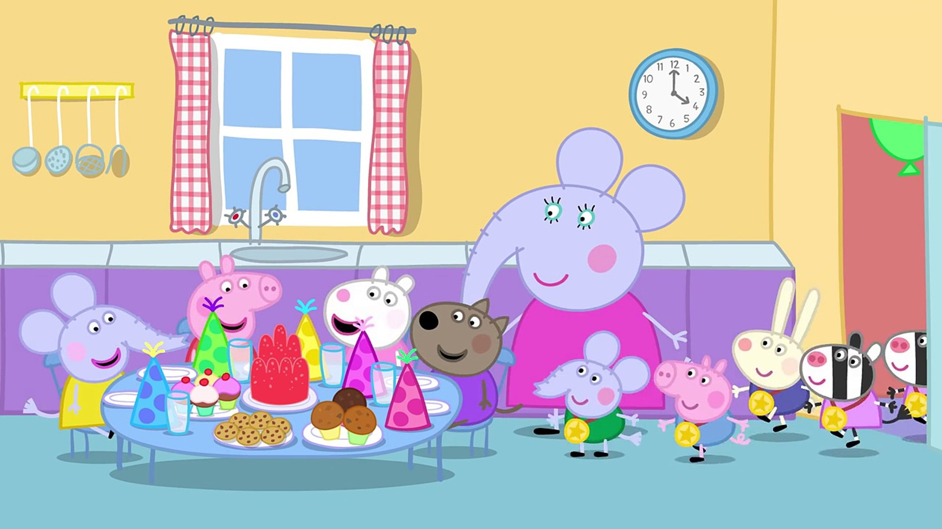 Peppa Pig Meet The Elephant Family Dailymotion Video