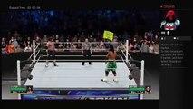 Smackdown 6-23-16 AJ Styles Vs Jimmy Uso