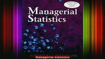 READ book  Managerial Statistics Full Free
