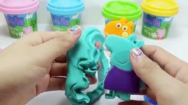 Peppa pig en stop motion con plastilina cómo hacer peppa pig play doh videos