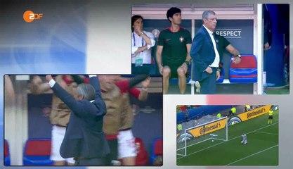Euro 2016: a kispadok a Magyarország - Portugália mérkőzésen