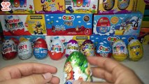 10 Farklı Sürpriz Yumurta Açma - Kinder Sürpriz , Ozmo , Ülker Smart, Hobby