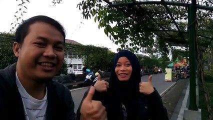 Ngabuburit sambil selfie di icon Kota Boyolali