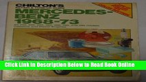 Read Chilton s Repair and Tune-Up Guide: Mercedes-Benz 1968-73 (Chilton s Repair   Tune-Up