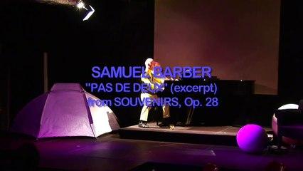 "Gruppe Katharsis: Endreinigung -  excerpt from ""Pas de deux"" op.28 by Samuel Barber"