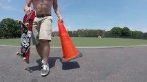 A 41 ans il apprend à faire du Skateboard en pratiquant tous les jours !