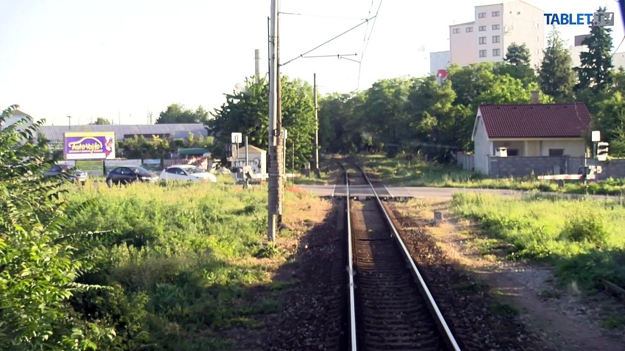 UNIKÁTNY VLAKOVÝ VIDEOPROJEKT: Z Trnavy do Jablonice