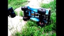 Мой Уаз - Едет Аппарат ( 1/6 RC selfmade UAZ MODEL)