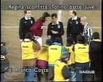 Torino Calcio-Juventus 3-2 del 25-01-1995 (Rizzitelli2,Angloma) servizio tv e intervista a N.Sonetti