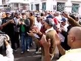 شعارات قوية ضد بنكيران في الوقفة الإحتجاجية التعبوية لإضراب 29 أكتوبر