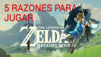 5 motivos para jugar al nuevo Zelda