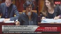 Les matins du Sénat - La loi travail poursuit son parcours au Sénat (23/06/2016)