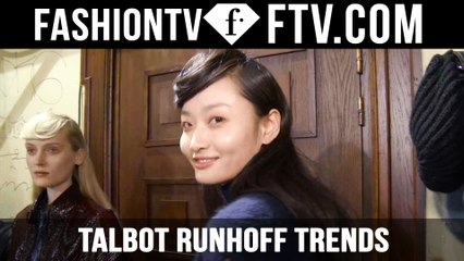 Paris Fashion Week F/W 16-17 - Talbot Runhoff Trends   FTV.com