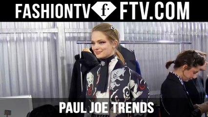 Paris Fashion Week F/W 16-17 - Paul Joe Trends   FTV.com