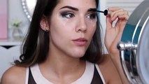 Vampy Makeup Tutorial Winged Eye Liner, Brown Eyes & Vampy Lips
