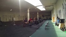 20 x 250 row at the Power Gears HQ was not as fun as it looks like!:)