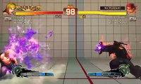 Ultra Street Fighter IV battle: Ken vs Evil Ryu