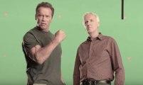 Arnold Schwarzenegger et James Cameron tournent ensemble ! 2016