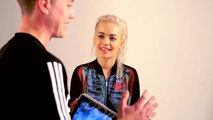 rita oras football fashionista gamedayplus episode 14 adidas football