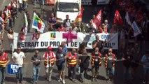 40.000 manifestants anti-loi Travail à Marseille selon les syndicats